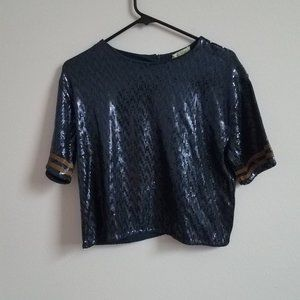Zara sequin Top